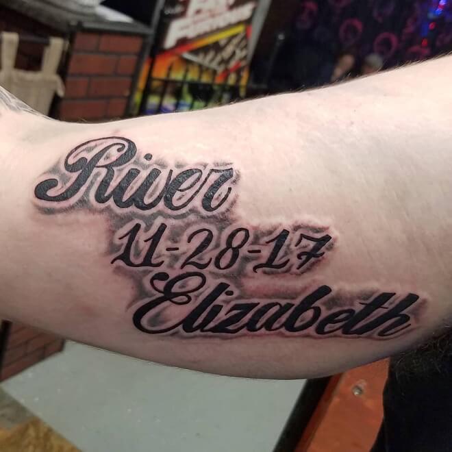 Inner Arm Tattoo
