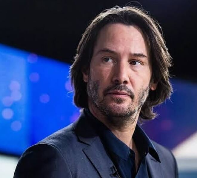 Keanu Reeves Shaggy Hairstyle