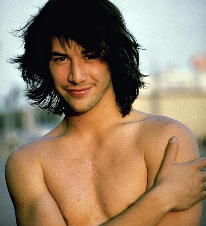 Keanu Reeves Young Hairstyle