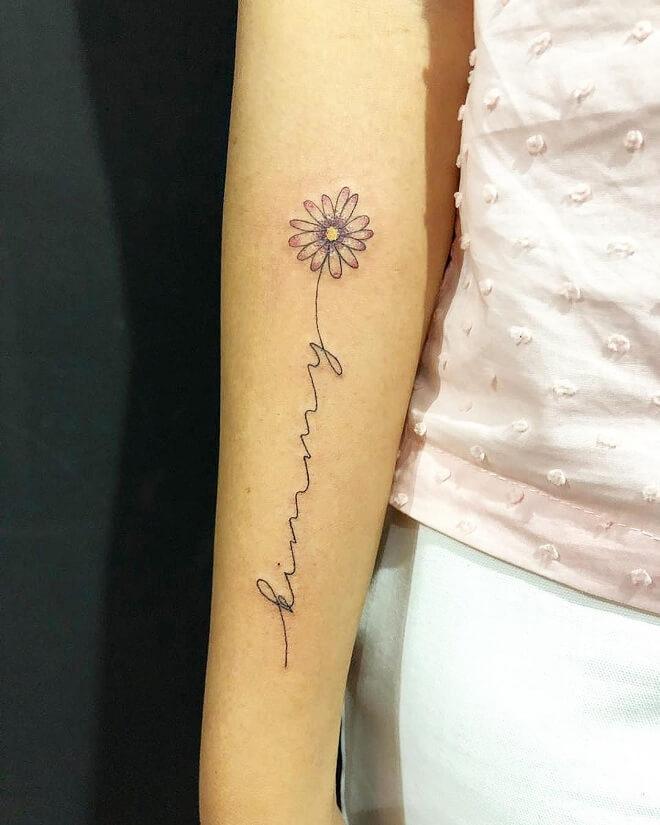 Line Work Tattoo