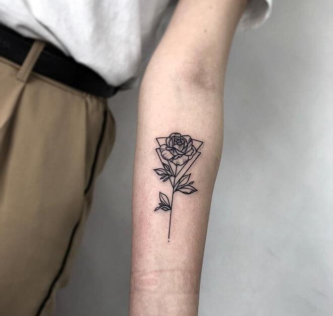 Line Work Tattoos