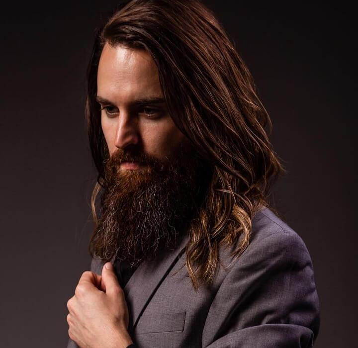 Enjoyable Top 30 Cool Long Hair And Beard Long Hair With Beard Styles Of 2019 Natural Hairstyles Runnerswayorg