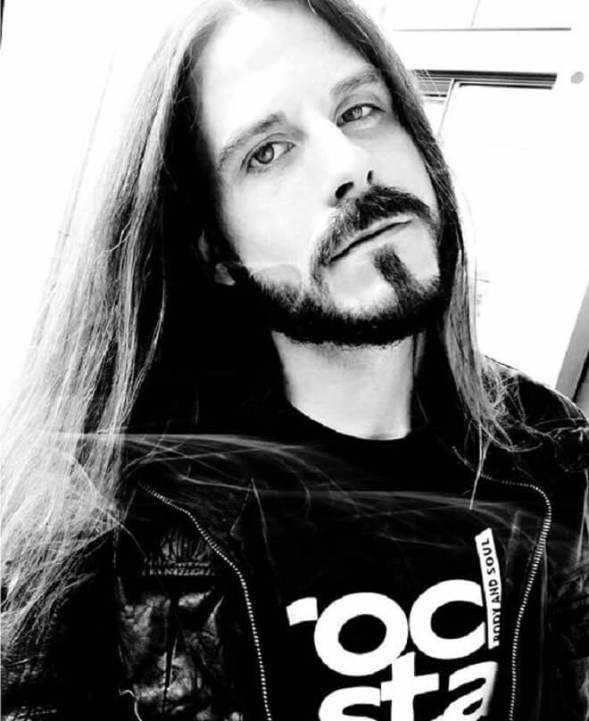 Long Hair and Short Boxed Beard