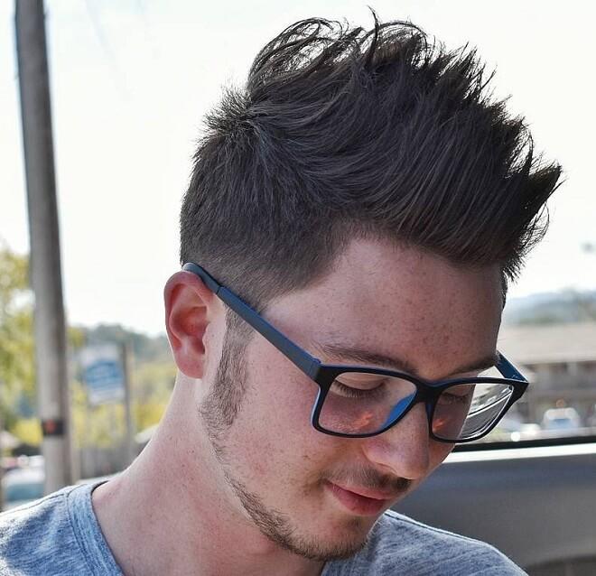 Long Spiky Haircut