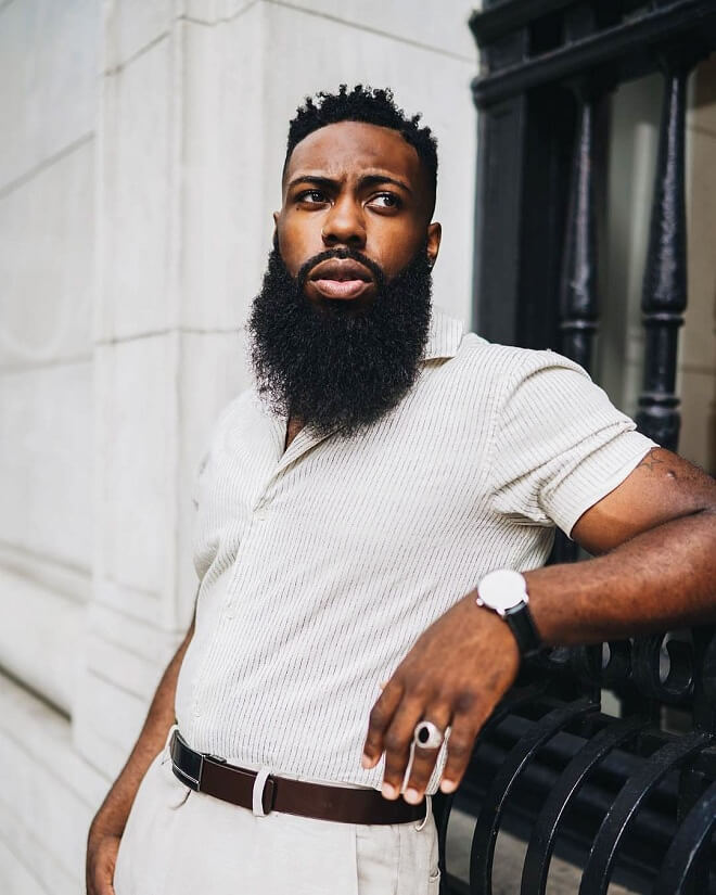 Long and Full Beard