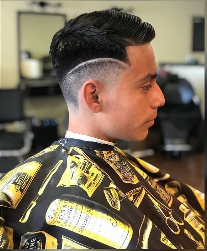 Mens Disconnected Undercut Hairstyle