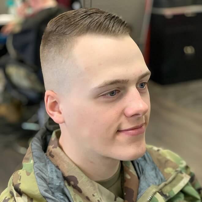 Military Undercut Haircut