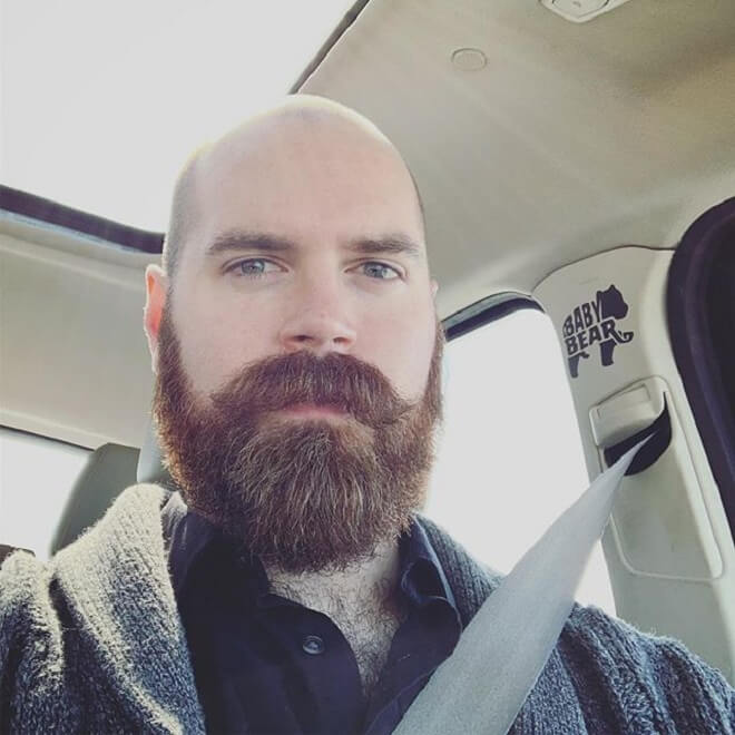 Mustache with Beard Style