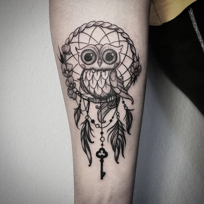 Owl Inked Tattoo
