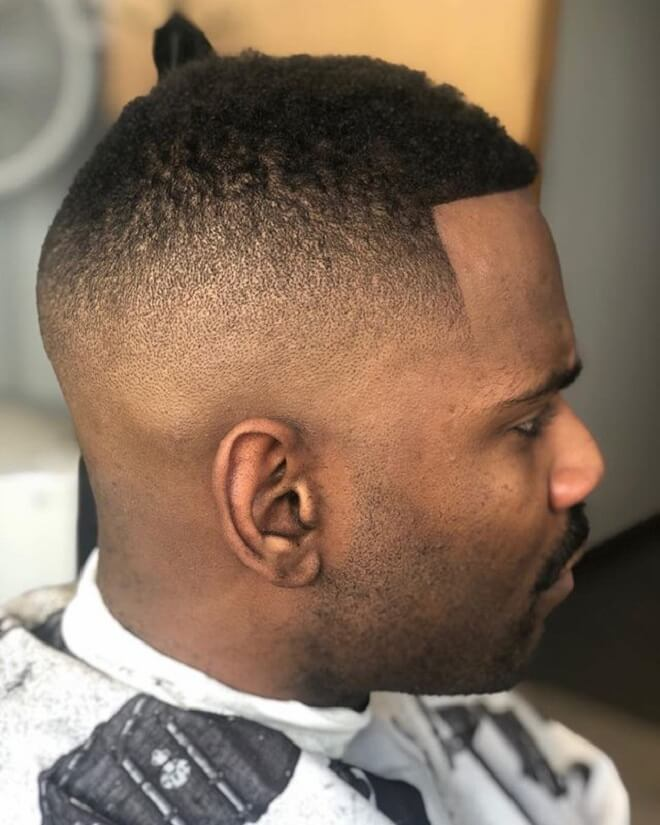 Razor Fade With Short Hair