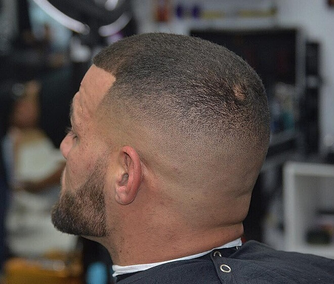 Razor Skin Fade with Buzz Cut