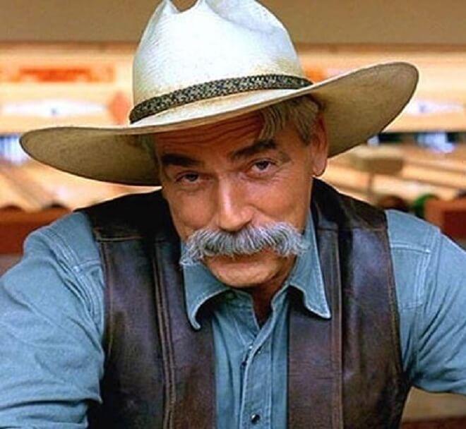 Sam Elliot Mustache Style