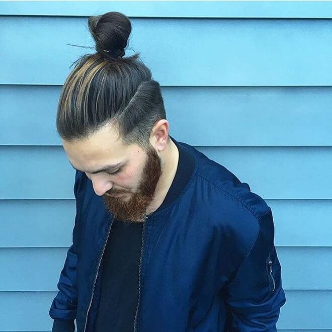 Samurai Top Knot Style