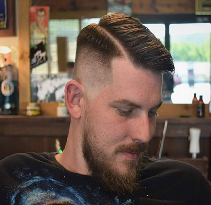 Top 30 Stylish Side Part Haircut Cool Side Part Haircut Of