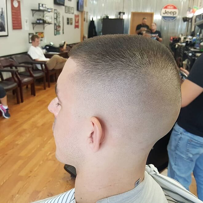 Skin Fade with High and Tight