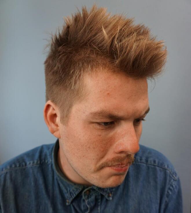 Spike Straight Hair