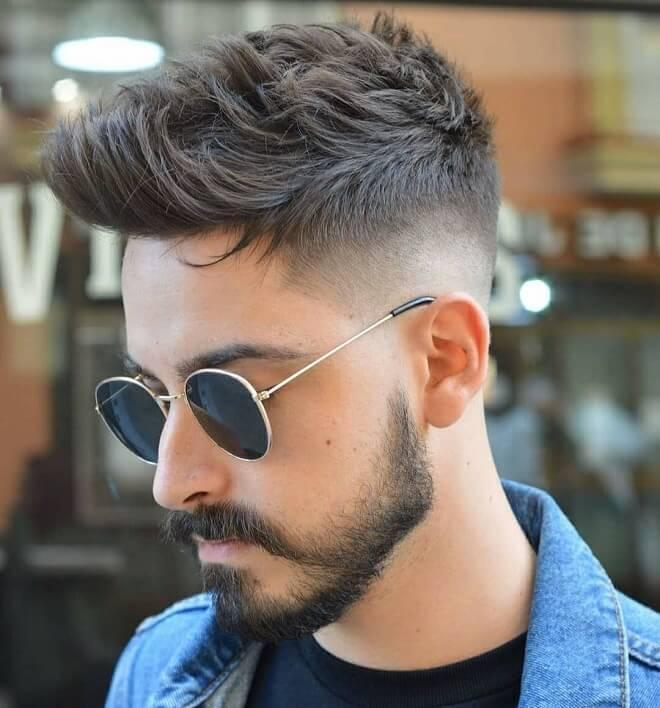 Texture Quiff Hair Style
