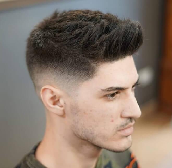 Textured Spiky Hair