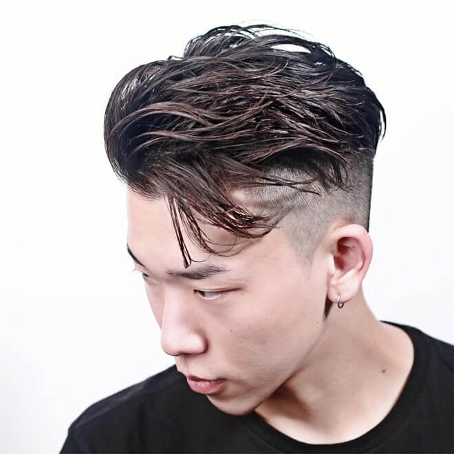 Top 30 Best Side Swept Hairstyles For Men Cool Side Swept Hairstyles