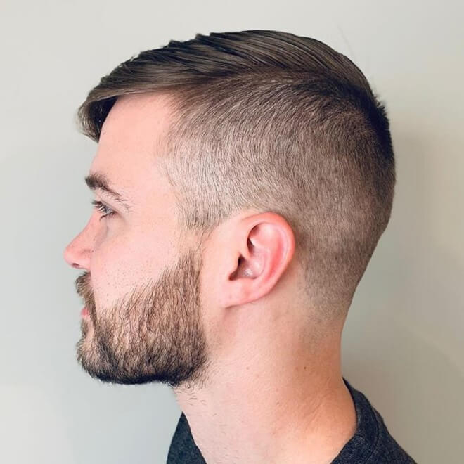 Undercut with Side Swept