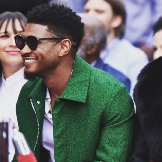 Usher Afro Style