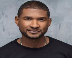 Usher Haircut