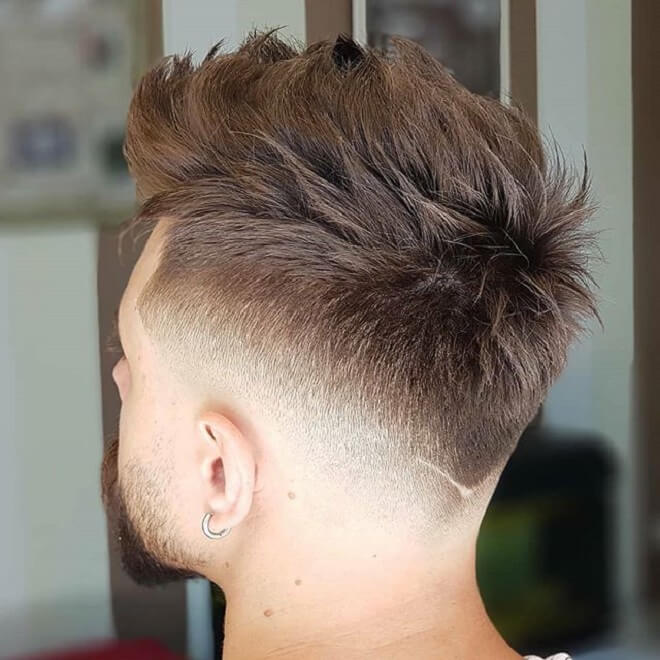 V Shape With Faux Hawk