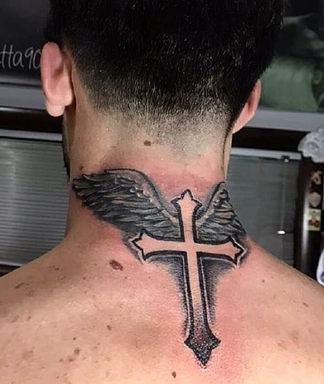 Wings Tattoo Neck Best Tattoo Ideas