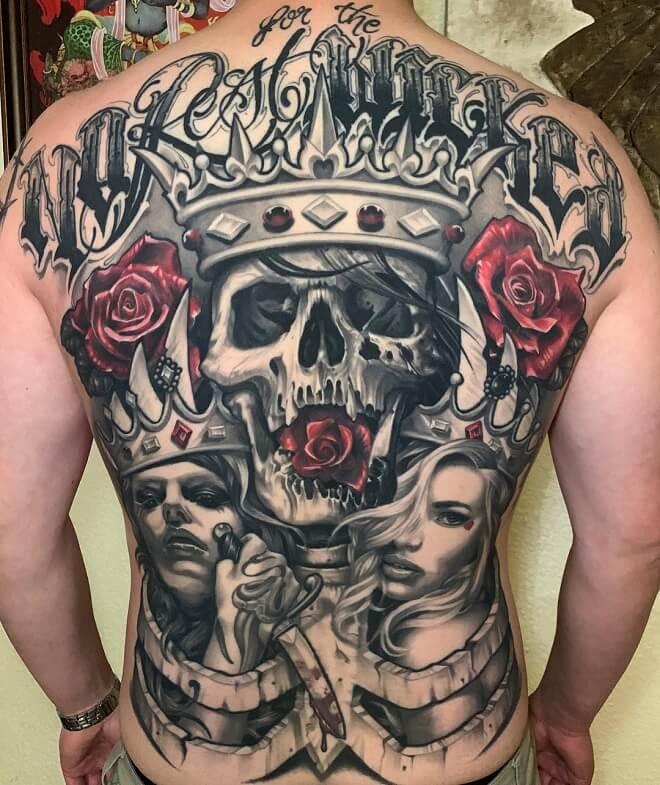 Big Tattoo on Back