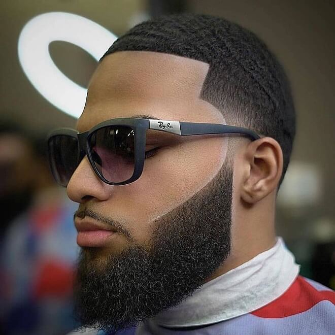 Black Beard Styles With Short Haircut