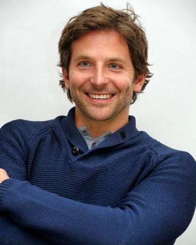 Bradley Cooper Messy Hair