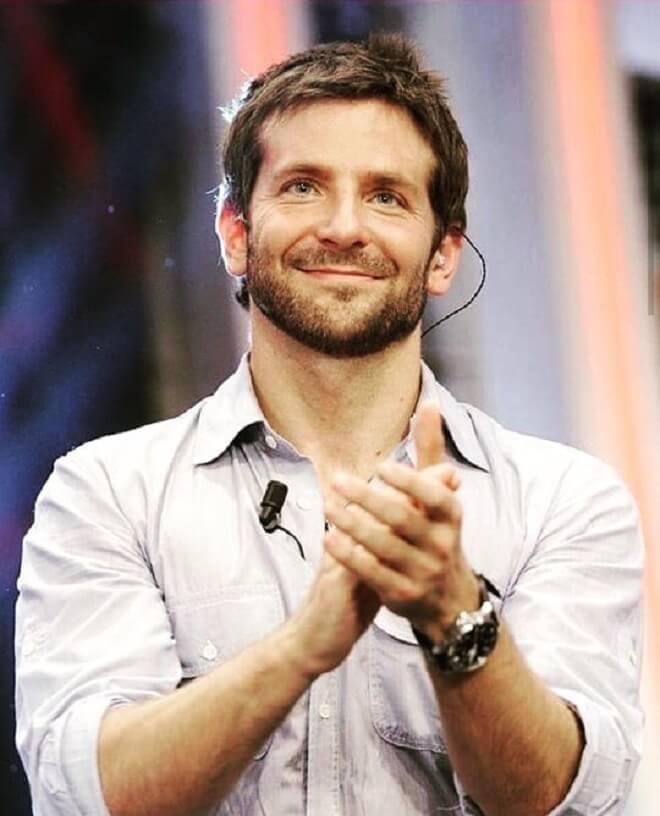 Bradley Cooper Short Straight Hair