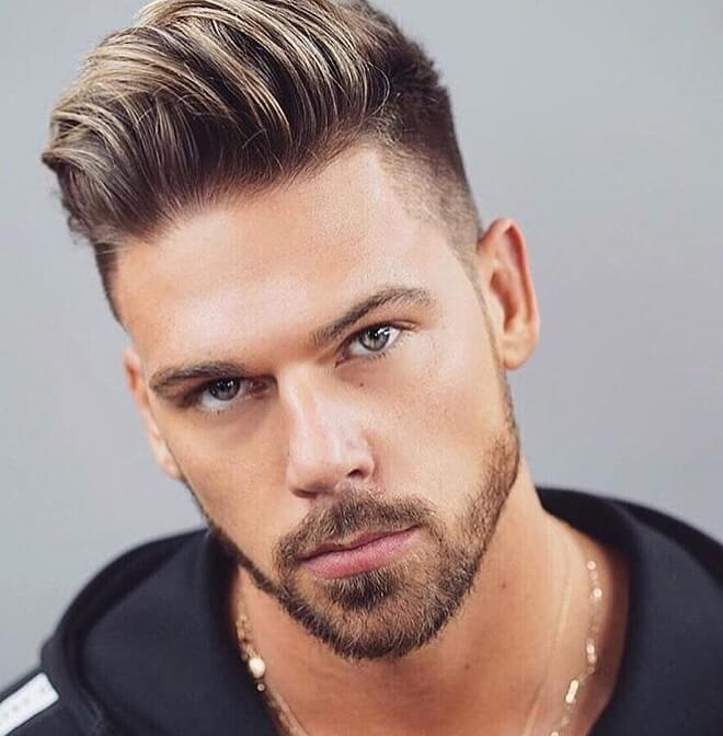 Top 30 Best Men S Haircut With Square Face Square Face