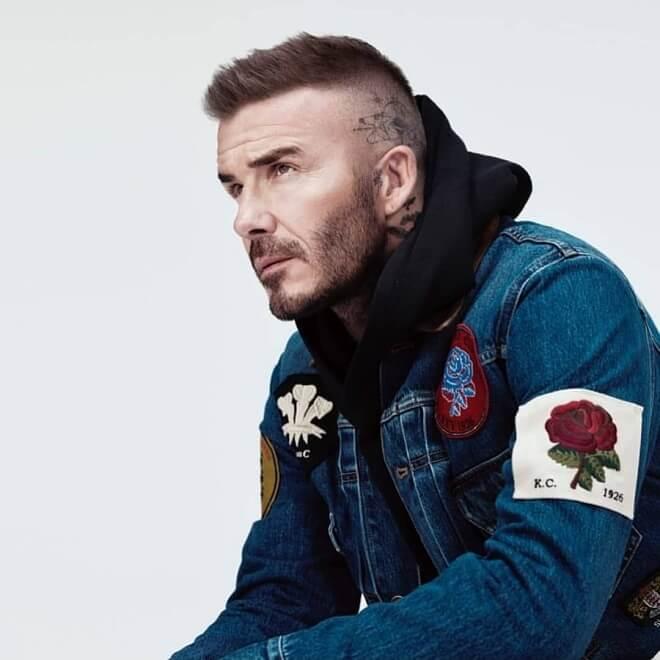 David Beckham Beard Style