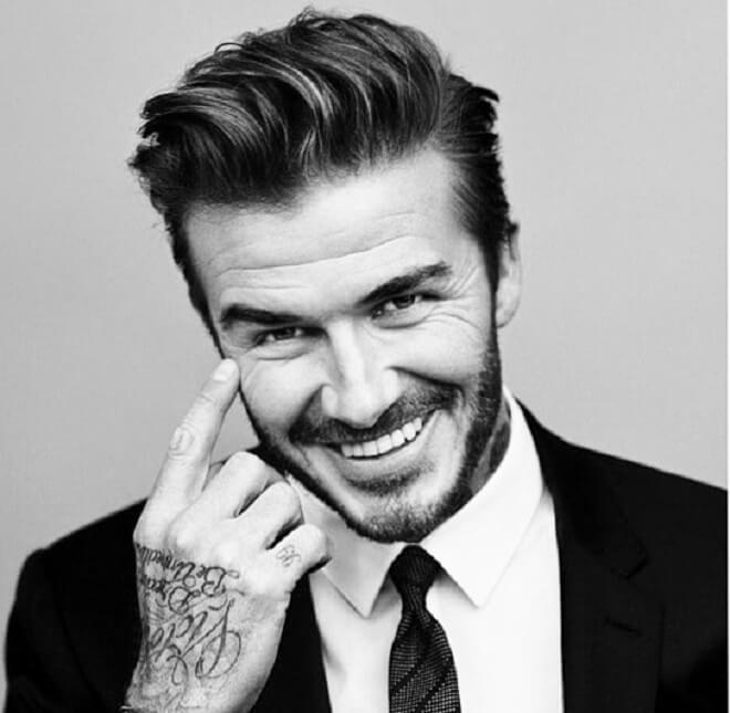 David Beckham Quiff Haircut