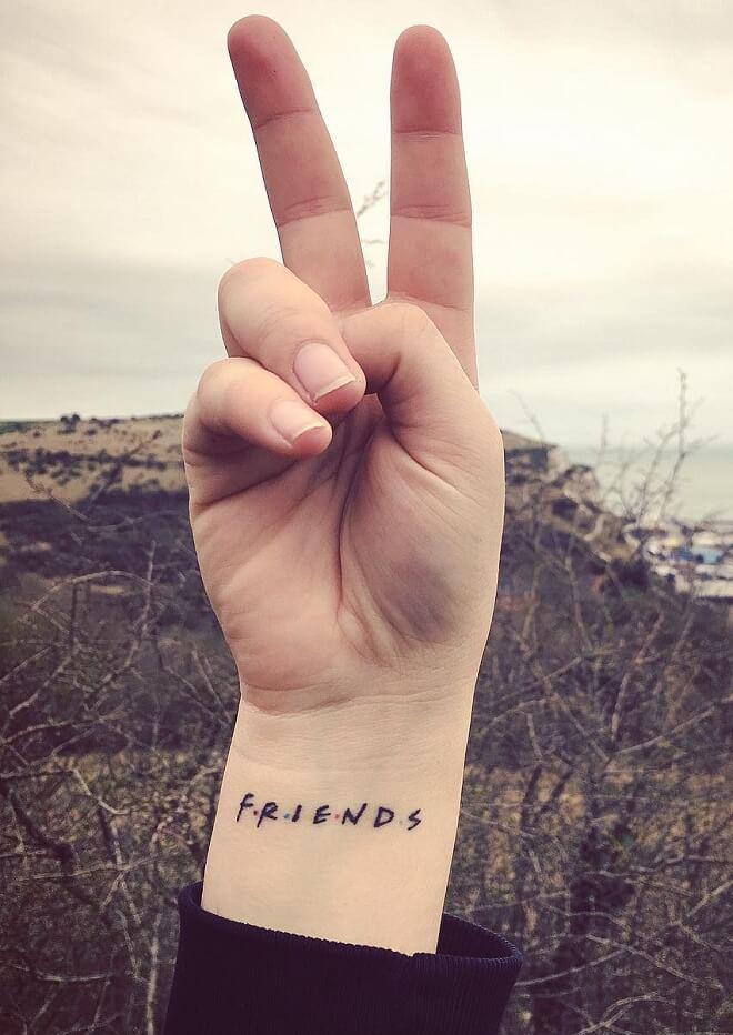 Friends Tattoo