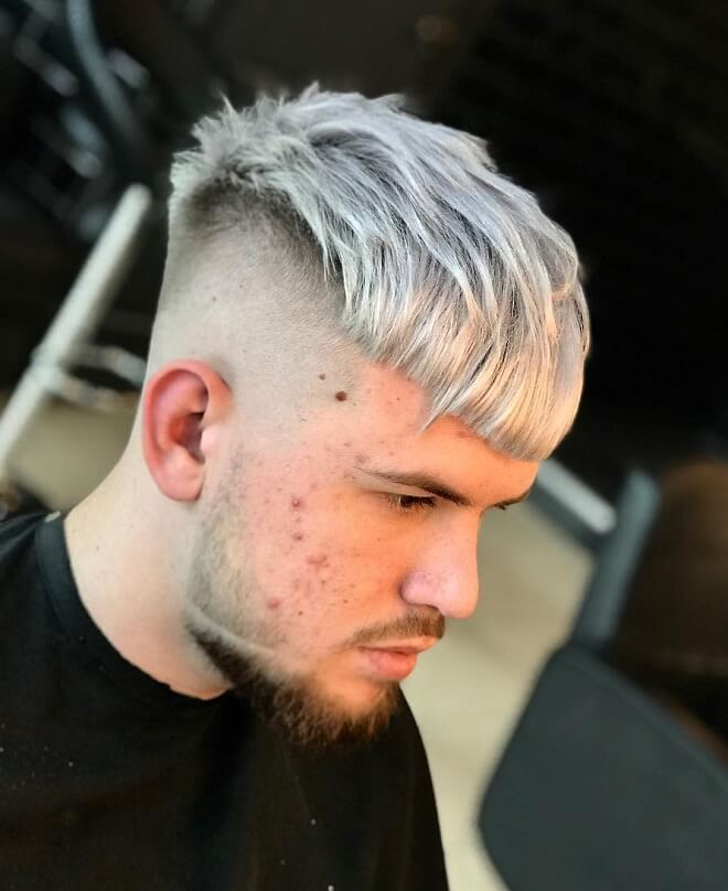Grey Hairstyle For Young Men