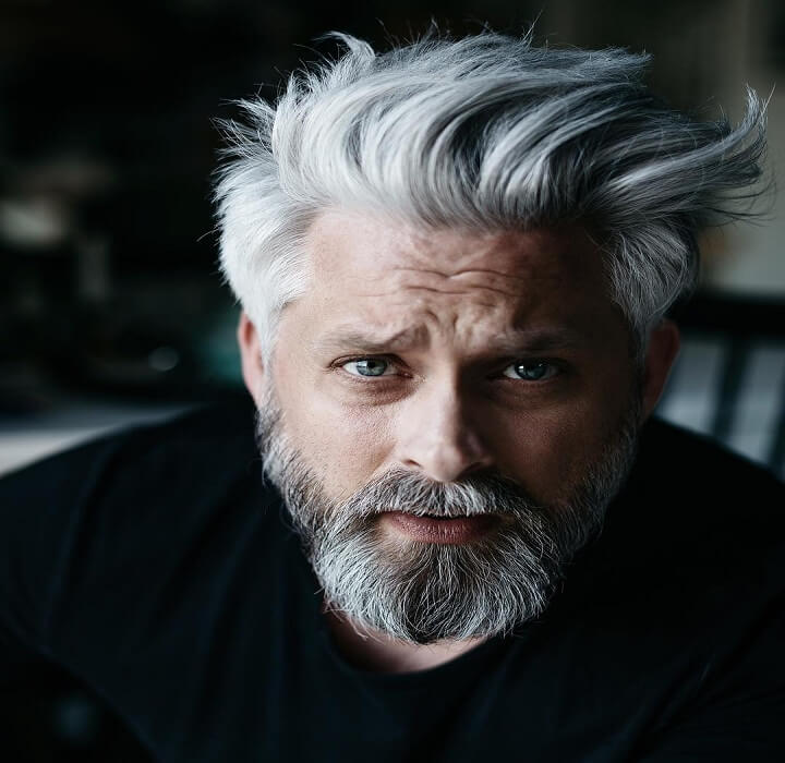 Top 18 Stylish Grey Hair For Men Amazing Grey Hairstyles