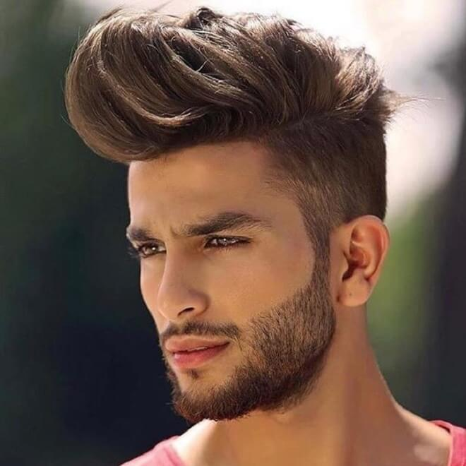 High Quiff Hairstyle