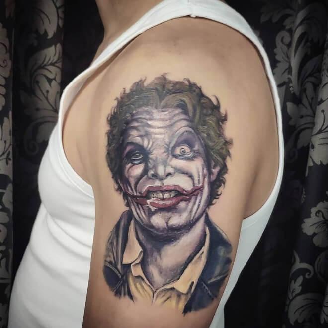Jocker Badass Tattoo