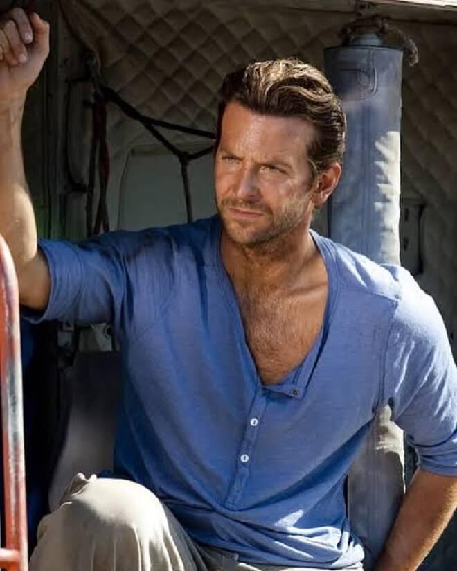 Layered Bradley Cooper Hairstyles