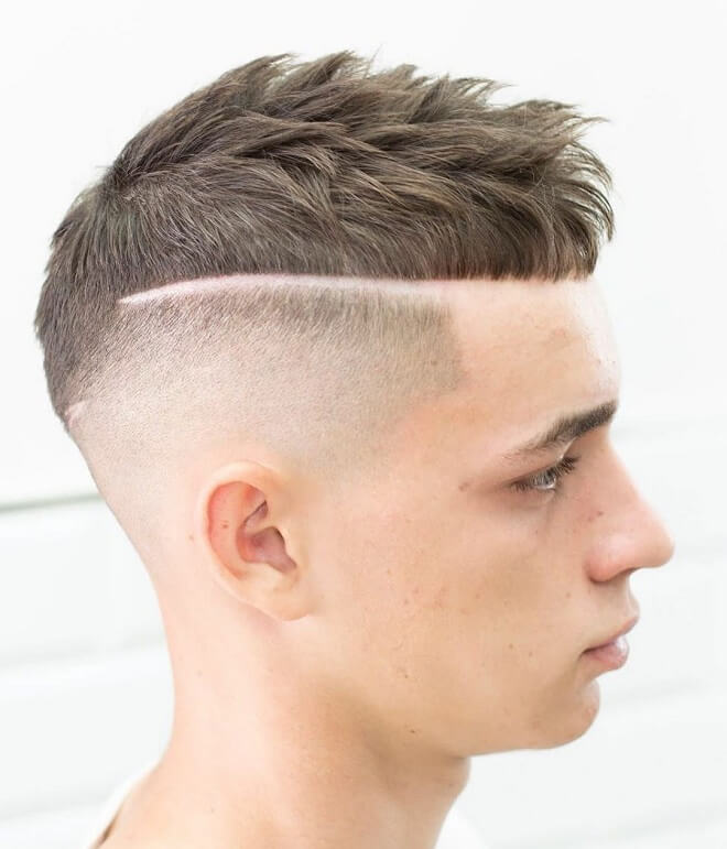 Line Up with French Crop Haircut
