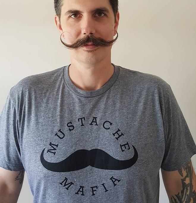 Long Mustache Style