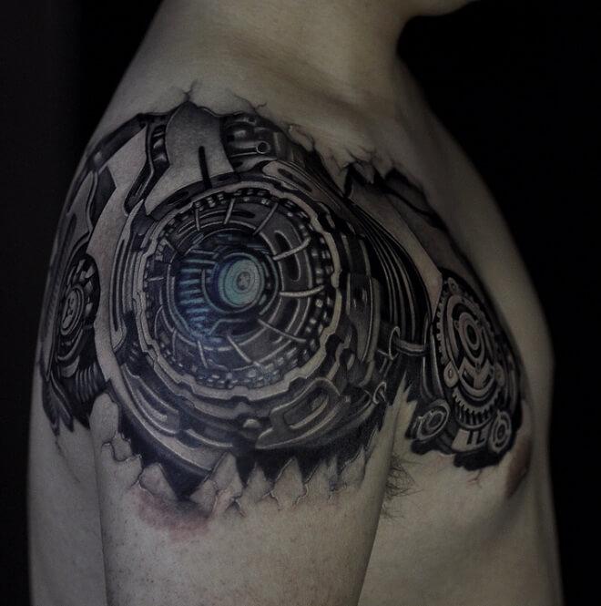 Machinery Tattoo