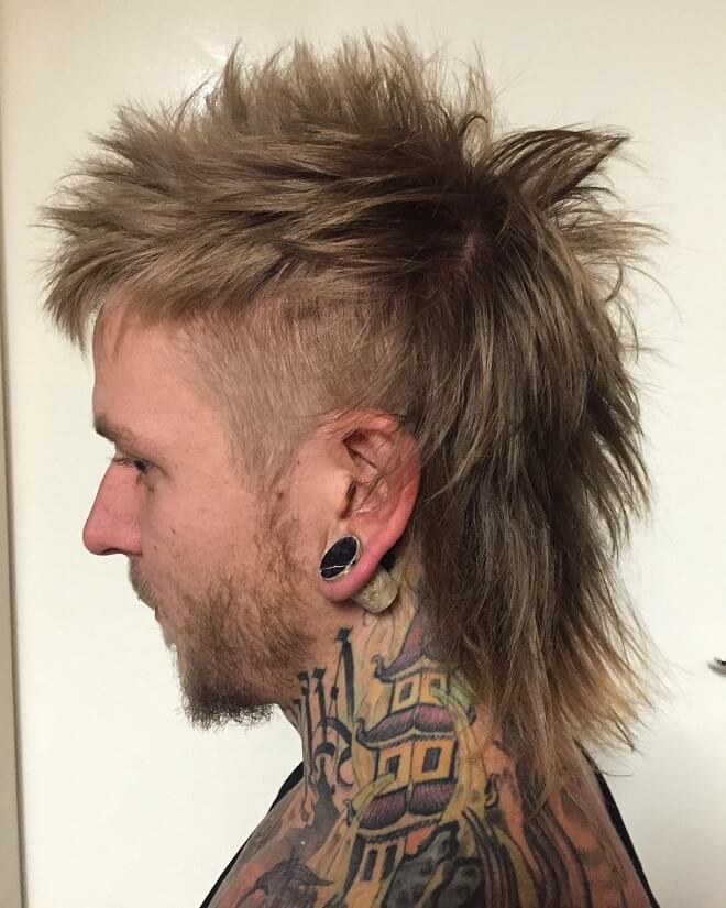 Top 30 Amazing Mullet Hairstyles For Men Cool Mullet Hairstyles