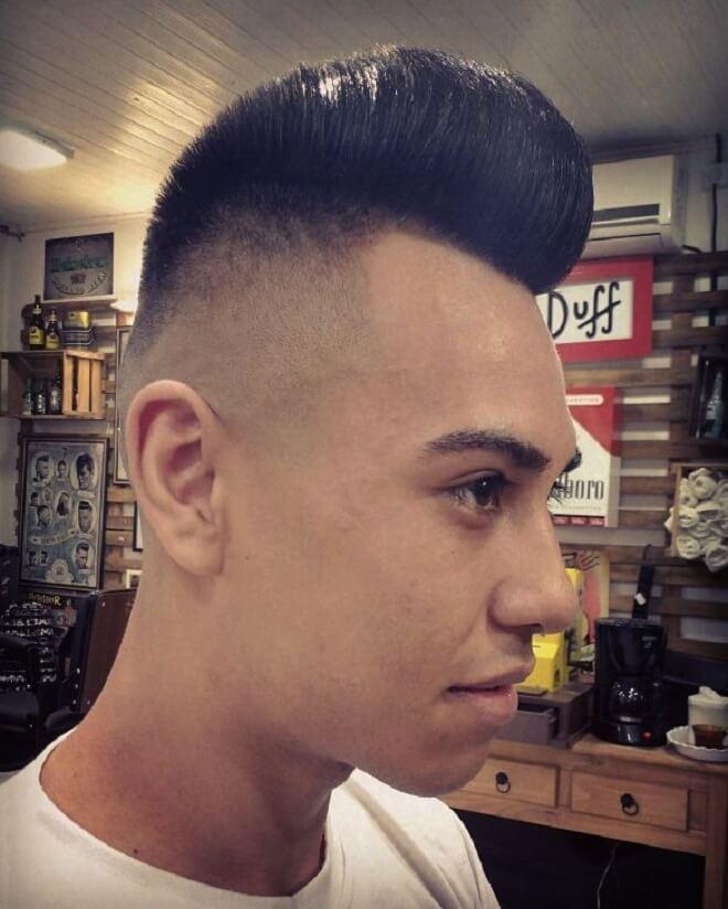 Mohawk Quiff Haircut