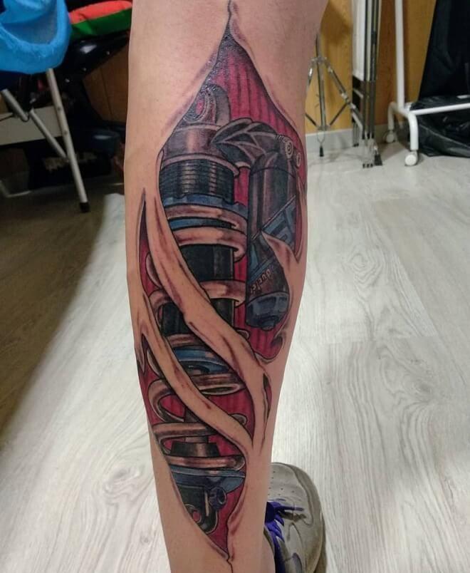 Muscles Tattoo