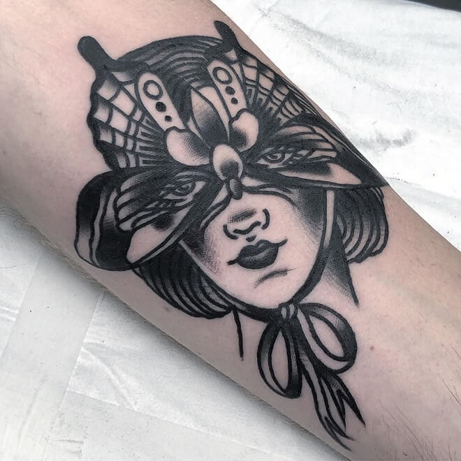 Old School Bold Tattoo