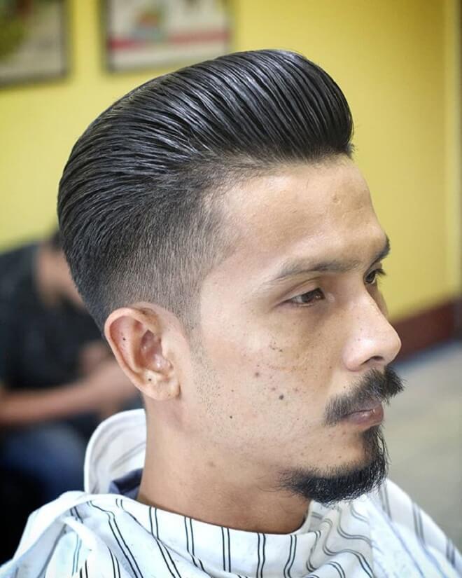 Pompadour Haircut for Business