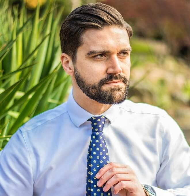 Professional Stubble Beard Style